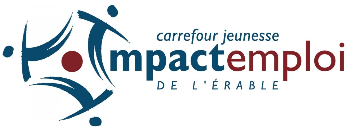 Logo Impact Emploi CJE de L'Érable