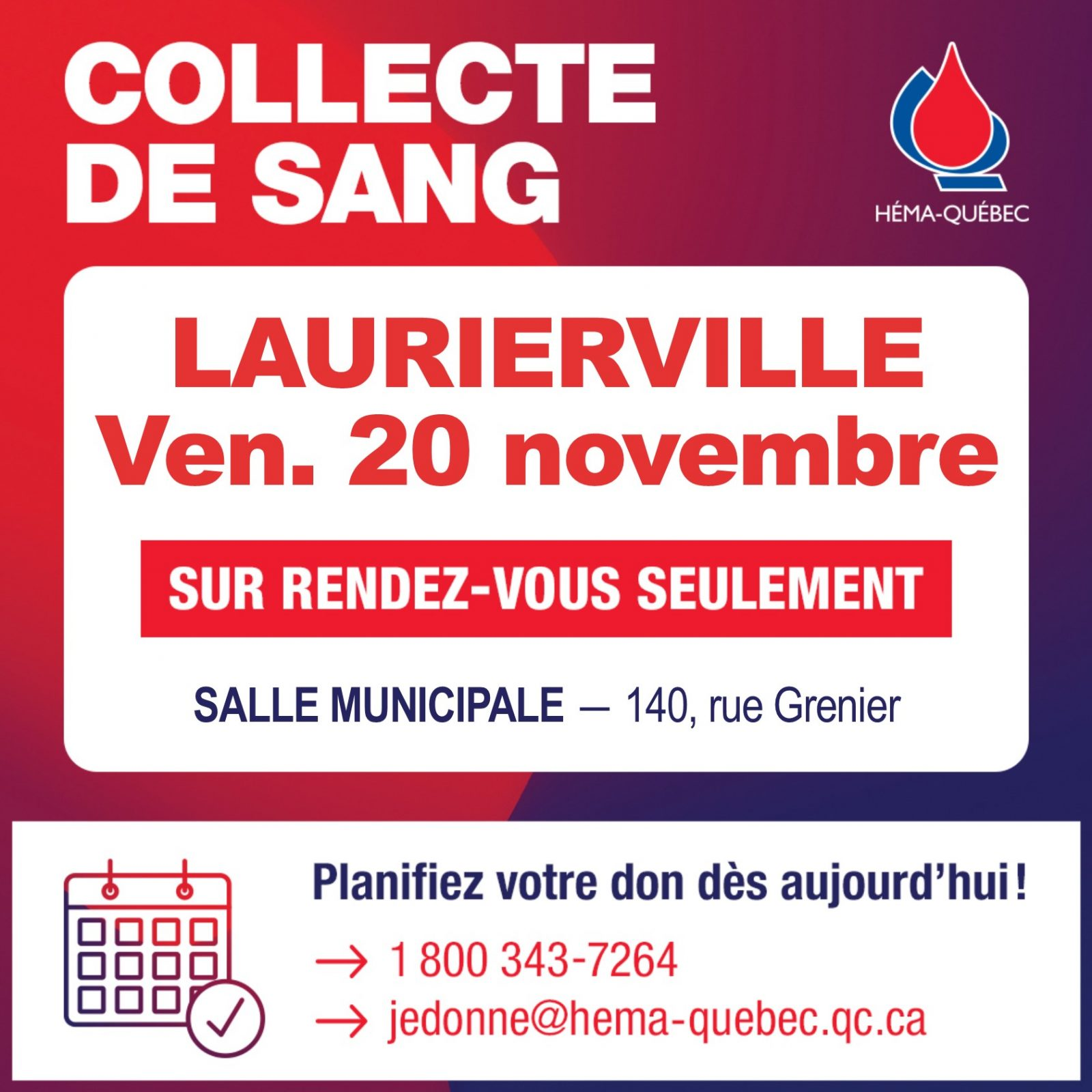 Collecte Laurierville