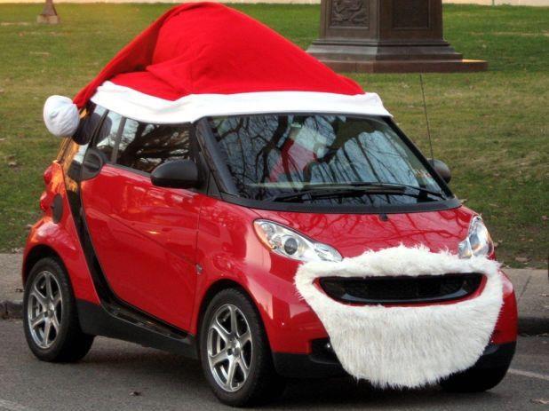 voiture Noël