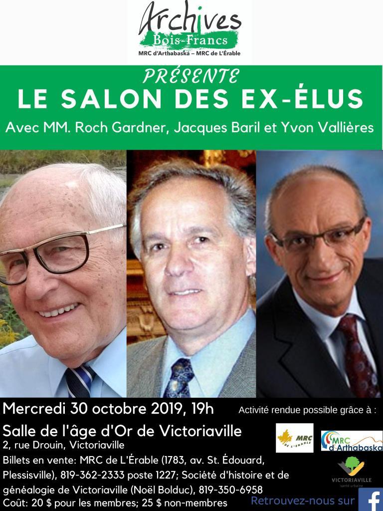 Salon ex-députés - Archives Bois-Francs