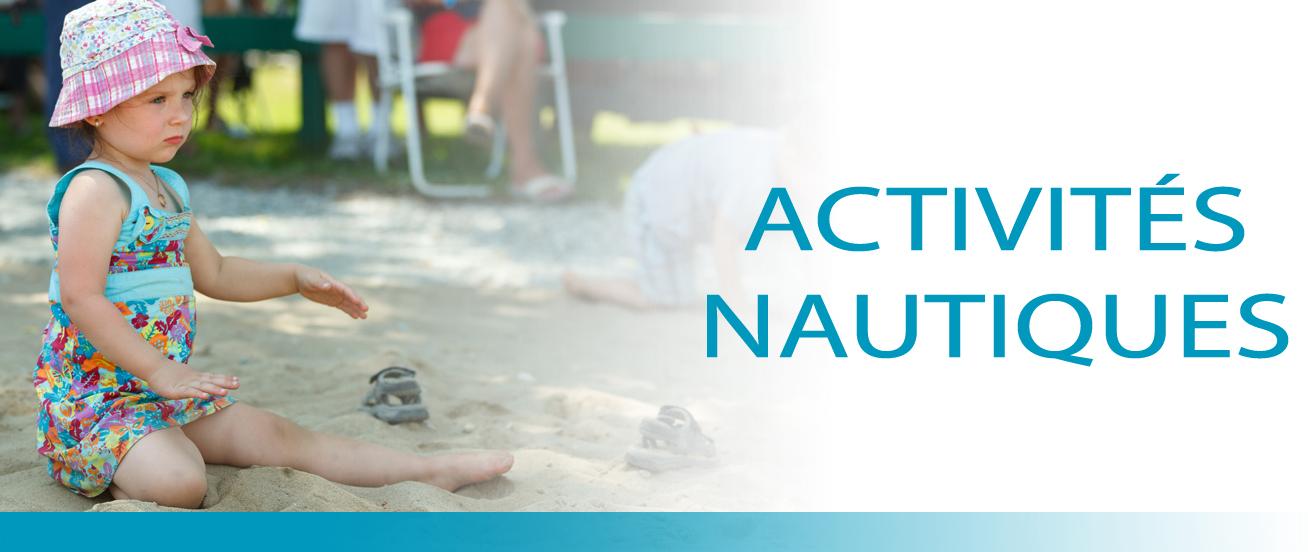Activités nautiques dans L'Érable