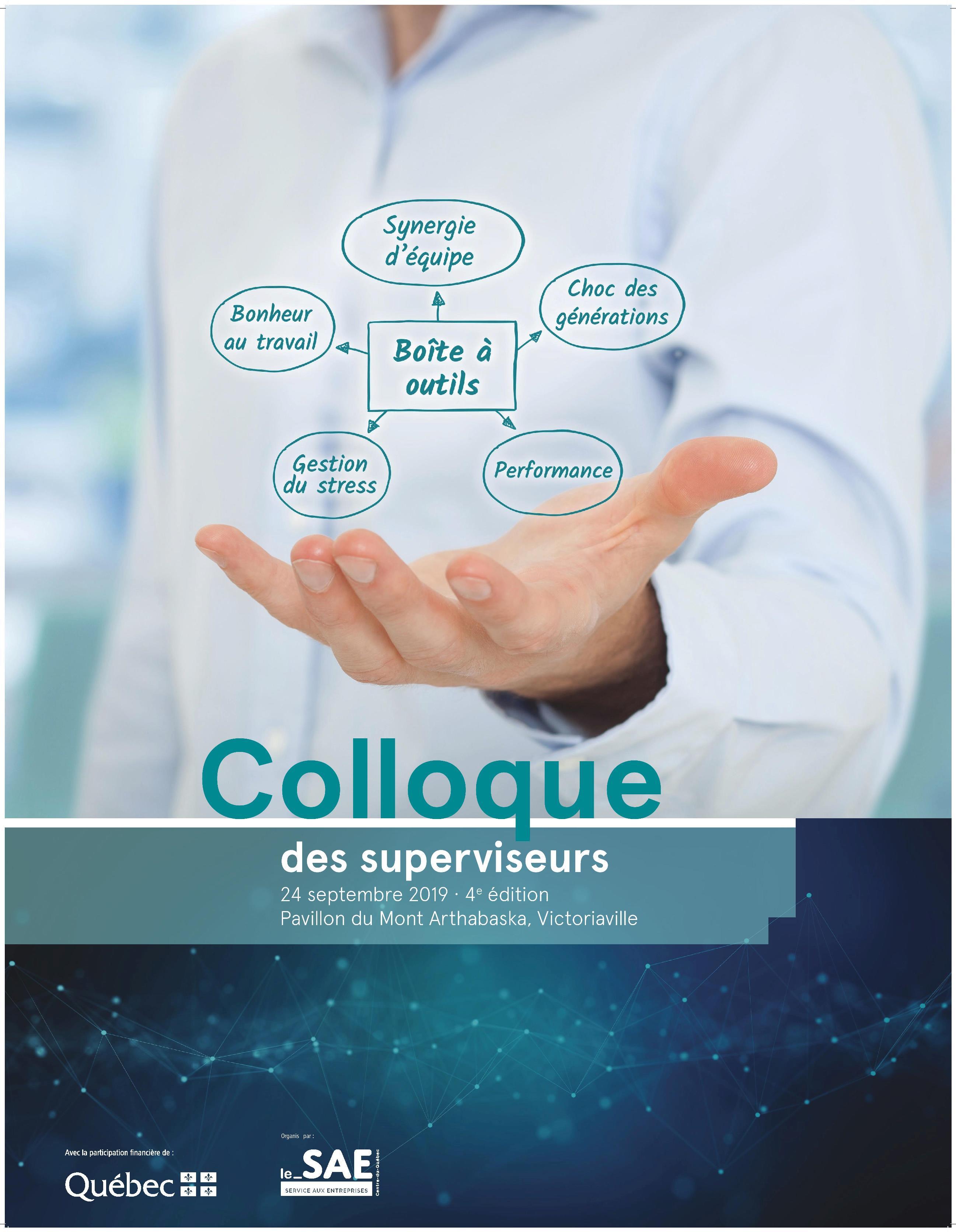 Colloque superviseurs Arthabaska-Érable 2019