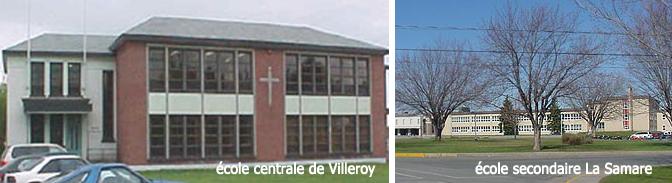 Écoles de Villeroy et de Plessisvile, CSBF