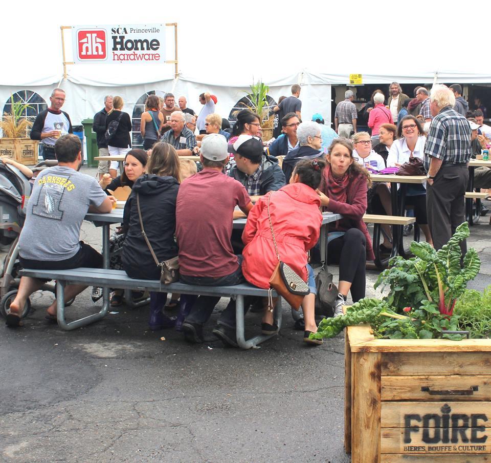 Foire bières, bouffe et culture de Princeville