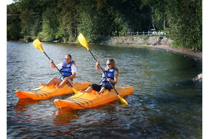 Kayak au Manoir du lac William