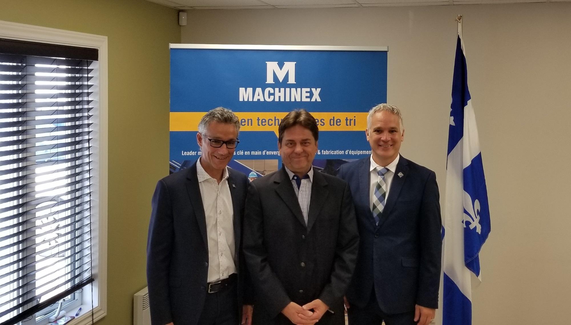Machinex de Plessisville investit 7,5 M$