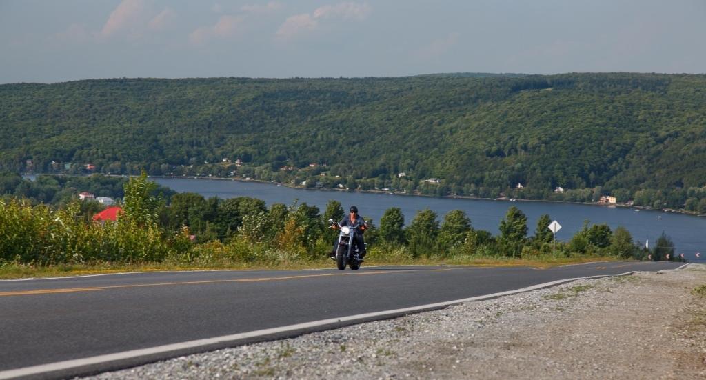 Circuit moto dans L'Érable