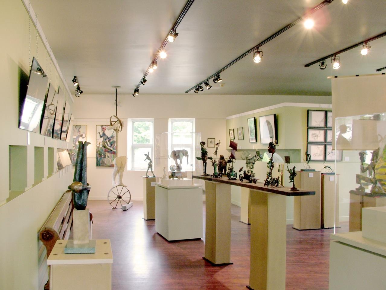 Visite de groupe au Musée du bronze d'Inverness dans L'Érable