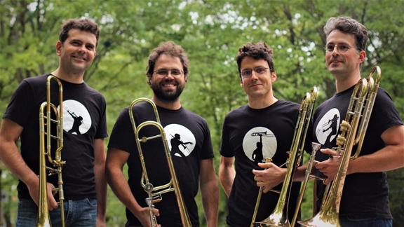 Quatuor de trombonnes Les Loups