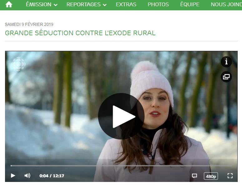 Reportage La semaine verte : Grande séduction contre l'exode rural