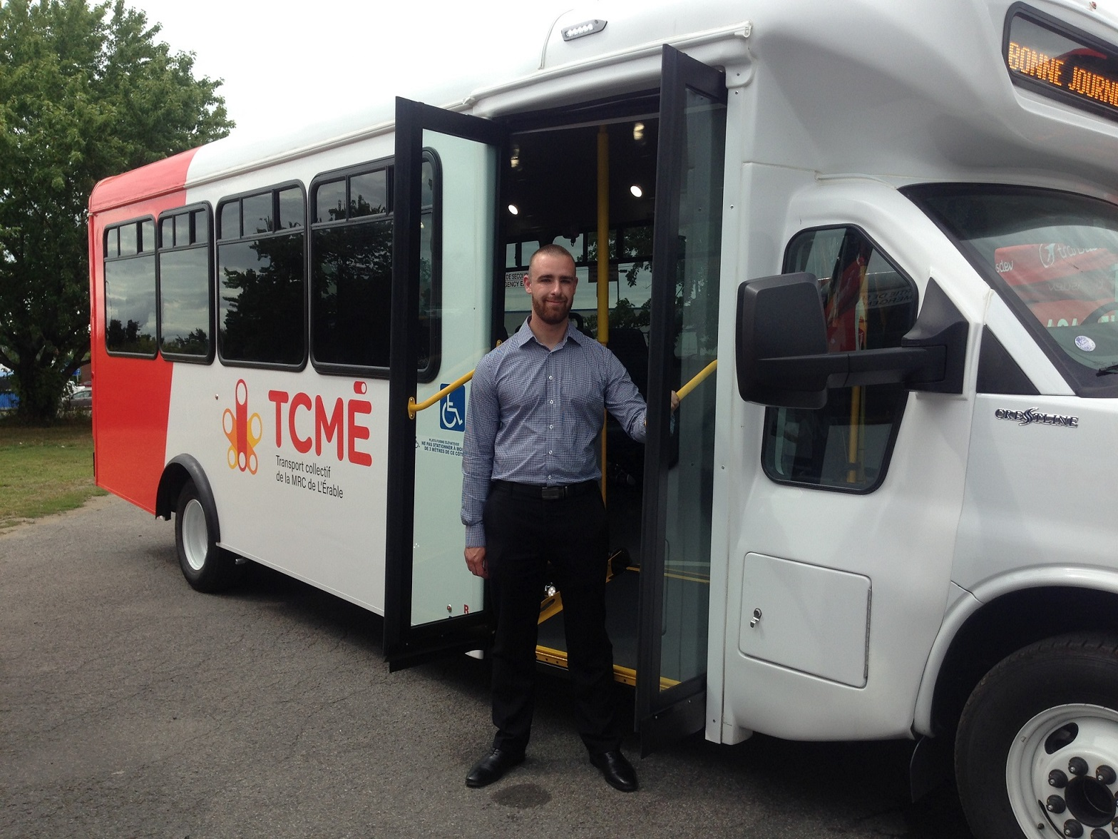 Simon Bégin, coordonnateur, transport collectif MRC de L'Érable