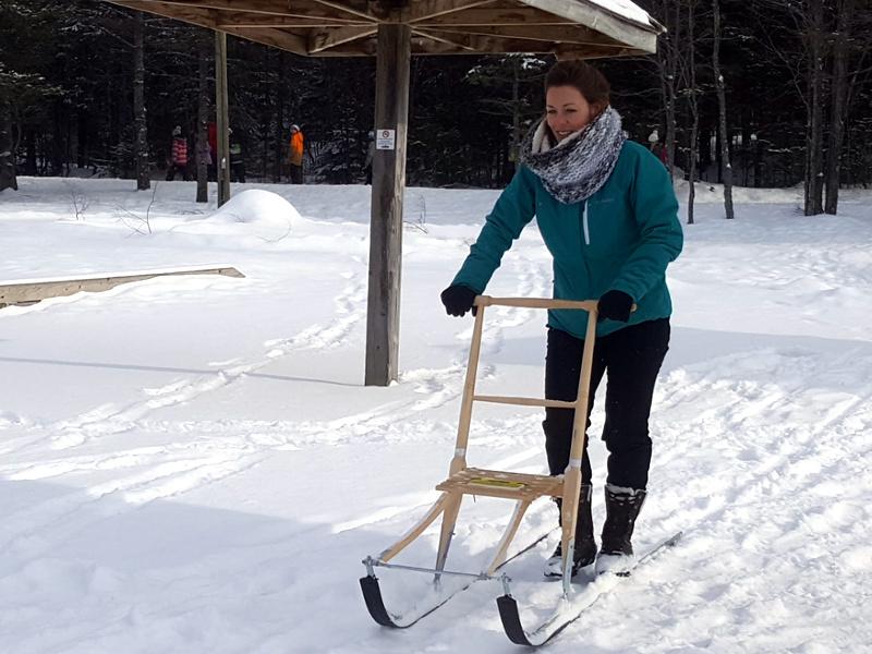 trotinnette des neiges