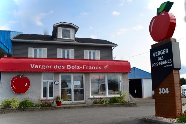 Kiosque du Verger des Bois-Francs
