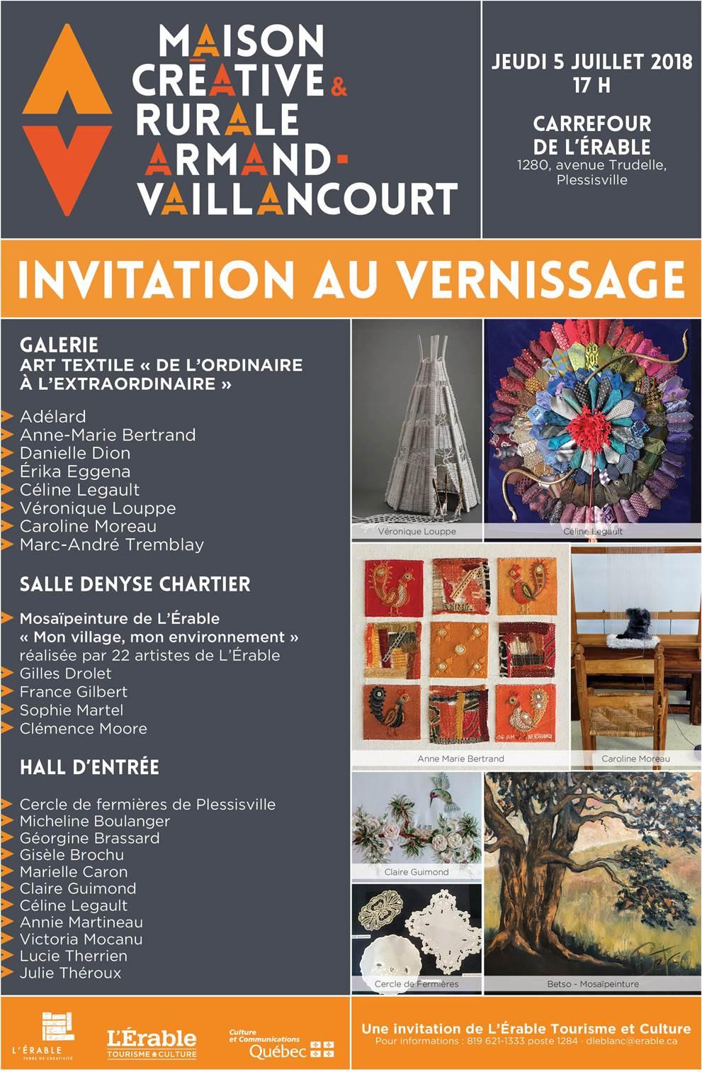 Exposition Art textile