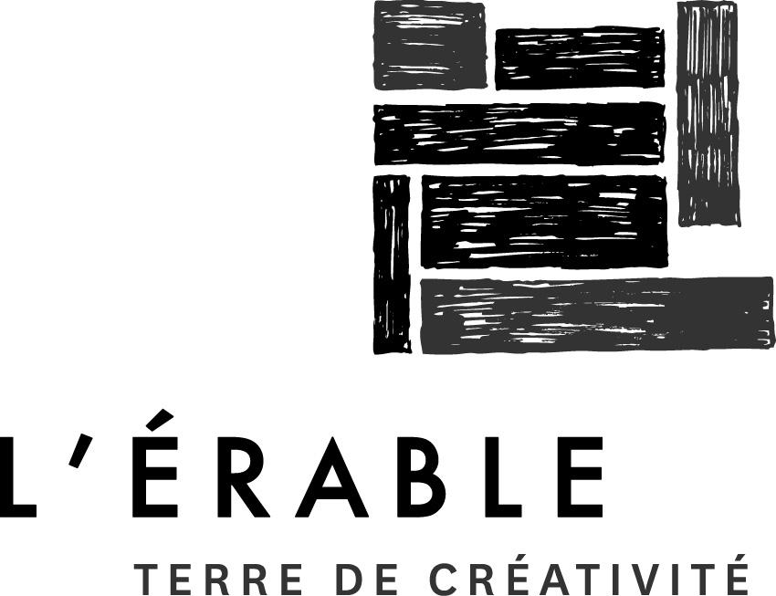 Logo L'Érable Noir et Blanc