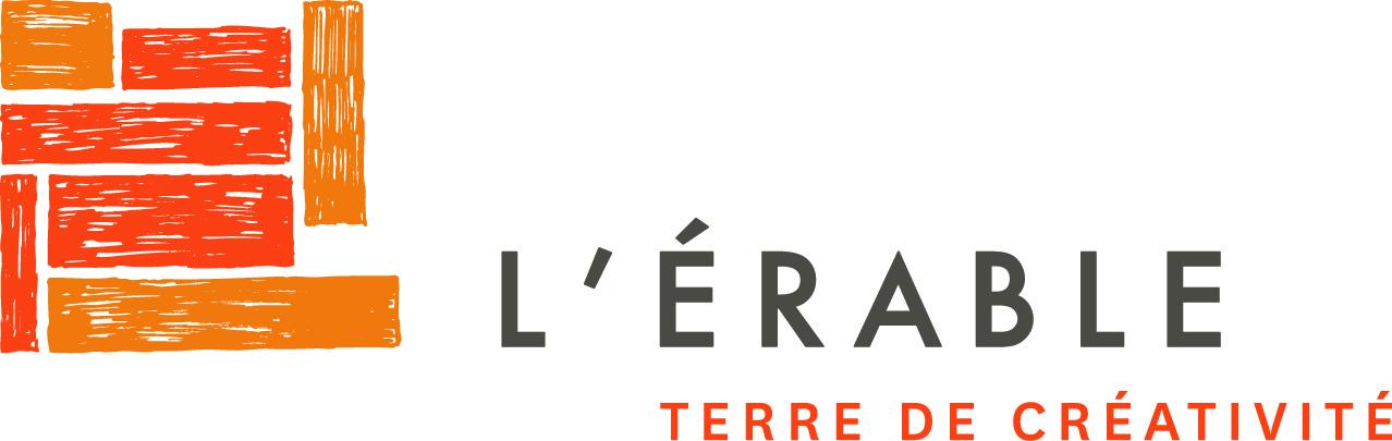 Logo L'Érable couleurs sur une ligne