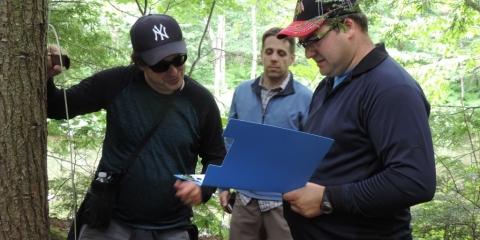 Rallye GPS du parc des Grandes-Coulées