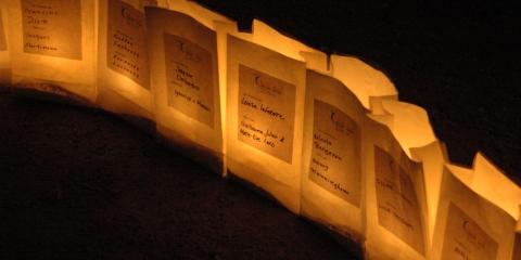 L'illumination des luminaires du Relais pour la vie de la MRC de L'Érable aura lieu vers 22 h