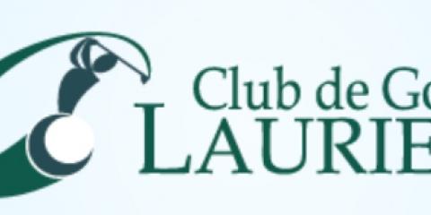 Logo du Club de golf Laurier