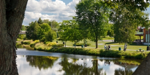 Parc de la rivière Bourbon