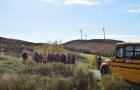 Visite de groupes du parc éolien de L'Érable