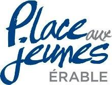 Logo Place aux jeunes de L'Érable